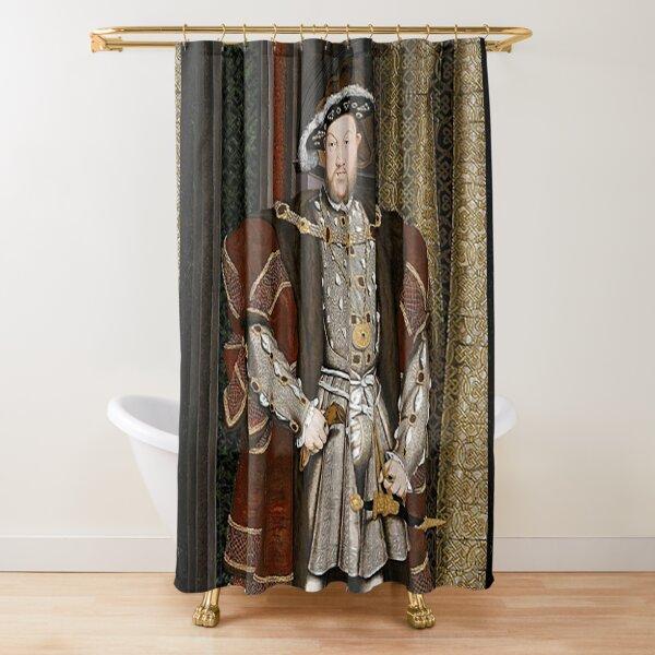 Enrique VIII. REY de Inglaterra. Cortina de ducha