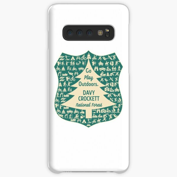 Davy Crockett National Forest shirt (ZZZ) Samsung Galaxy Snap Case
