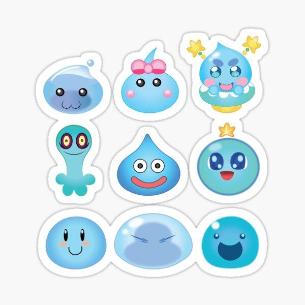 Blue Slime Buddies Sticker