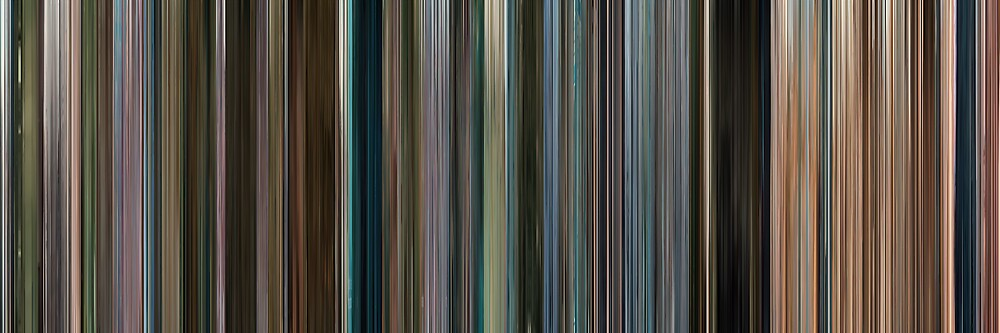 Moviebarcode: The Constant Gardener (2005) by moviebarcode
