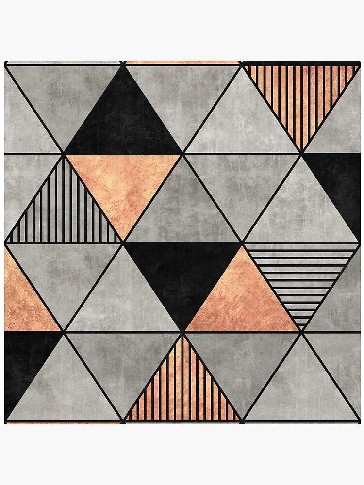 Concrete and Copper Triangles 2 by ZoltanRatko