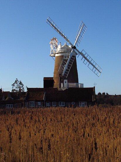 Cley Windmill, Norfolk by wiggyofipswich