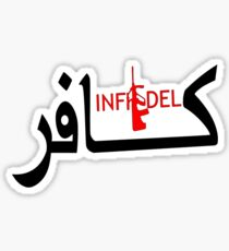 Infidel with Steyr Sticker