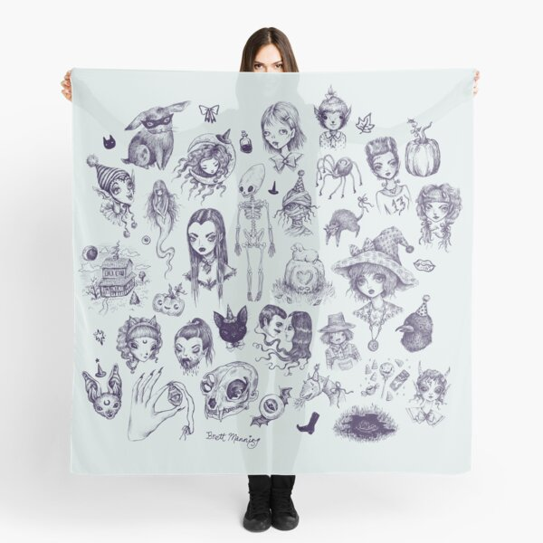 All The Spooky Stuff Scarf