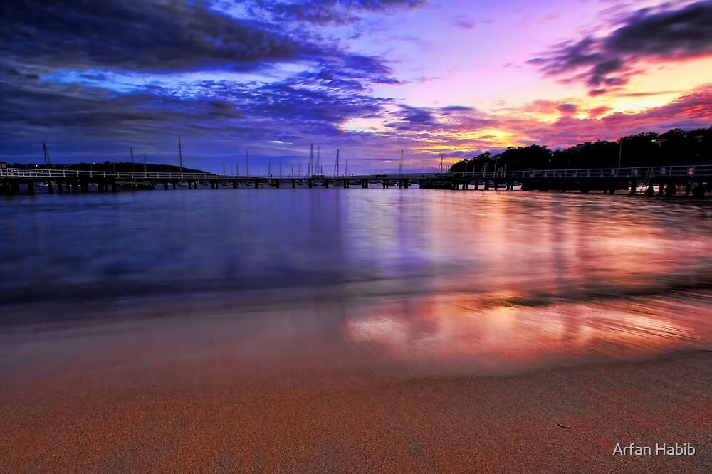 Glowing Sand by Arfan Habib
