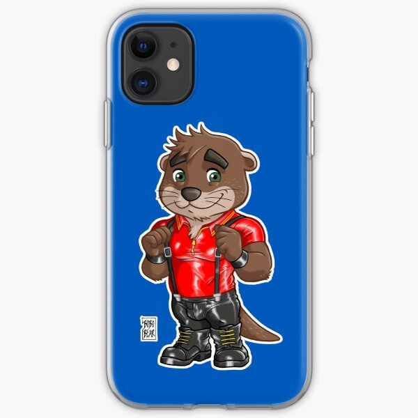 RUBBER OTTER - BEARZOO SERIES iPhone Soft Case