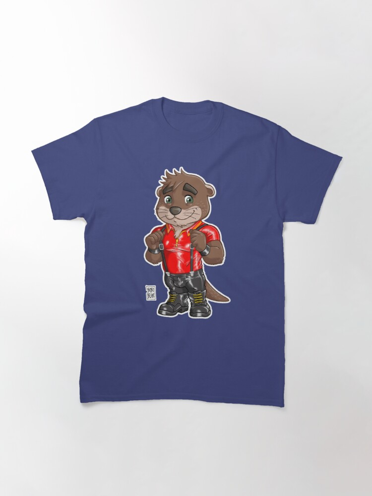Alternate view of RUBBER OTTER - BEARZOO SERIES Classic T-Shirt