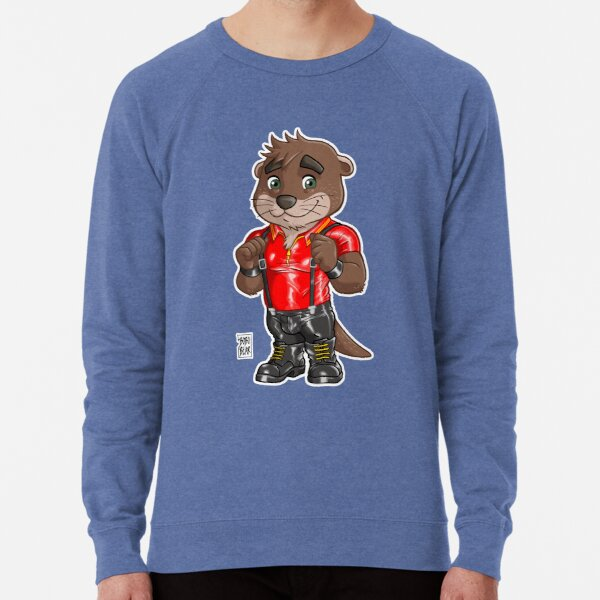 RUBBER OTTER - BEARZOO SERIES Lightweight Sweatshirt
