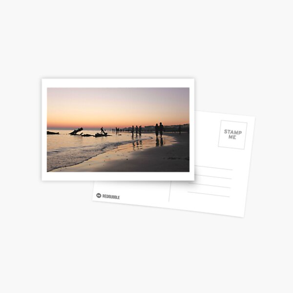 Beach Stroll Postcard