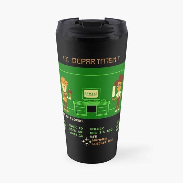 Maniac IT Department Travel Mug