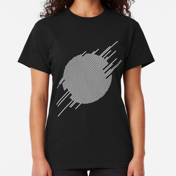ABshapes in a disc (w) Classic T-Shirt