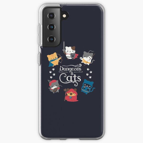 Donjons et chats Coque souple Samsung Galaxy