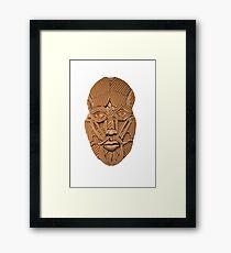 Cardboard Head Framed Print