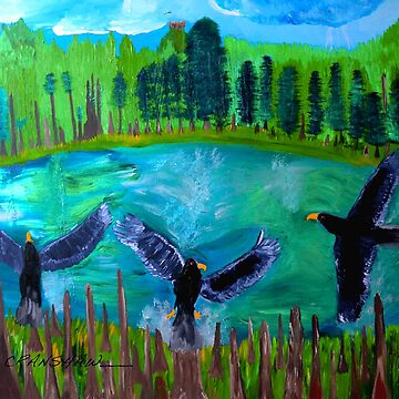 Where Eagles Fly by ajartist