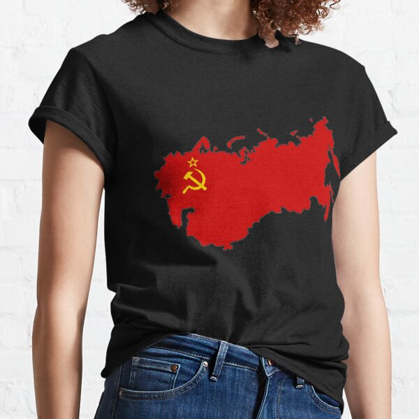 Soviet Union Flag Classic T-Shirt