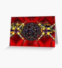 M3D:  Dilithium Crystal Reactor Chamber (UF0608) Greeting Card