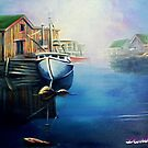 Early morning harbour by Dan Wilcox