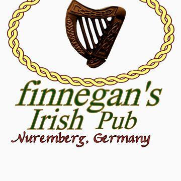 Finnegan's Irish Pub Nuremberg Oval Wappen Color by FinnegansNbg