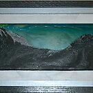Twilight Mountain by james black
