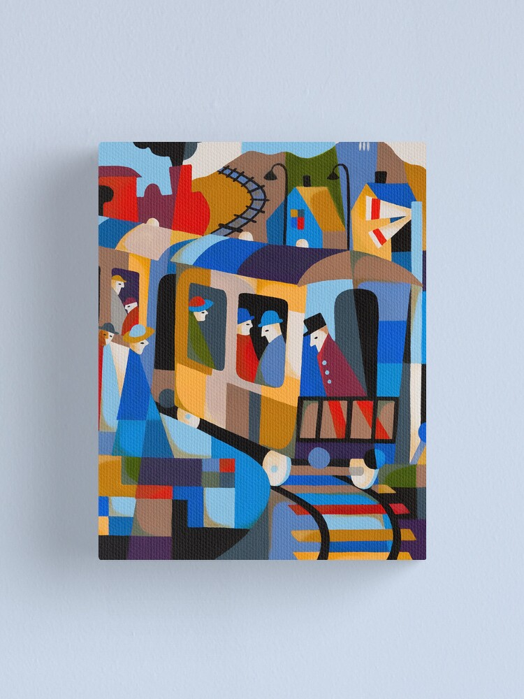 Alternate view of LAST TRAIN FROM HOBART 1978 Canvas Print