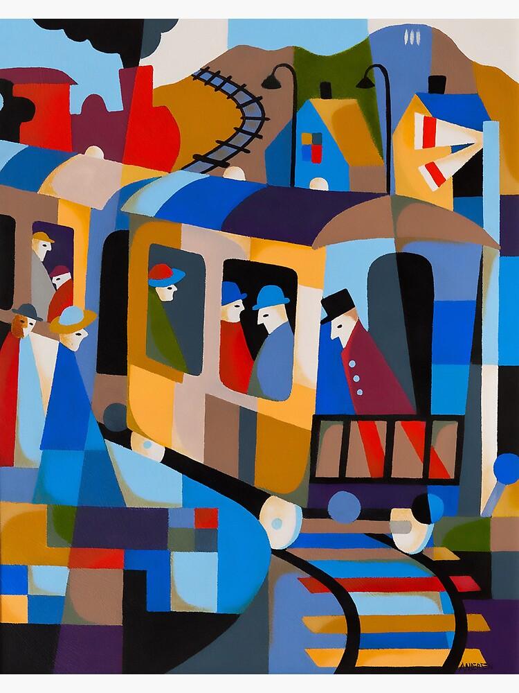 LAST TRAIN FROM HOBART 1978 by arttas