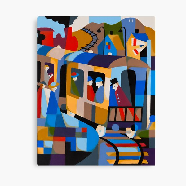 LAST TRAIN FROM HOBART 1978 Canvas Print