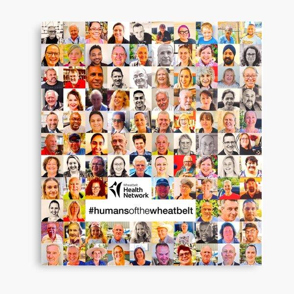 Humans of the Wheatbelt v6 Metal Print