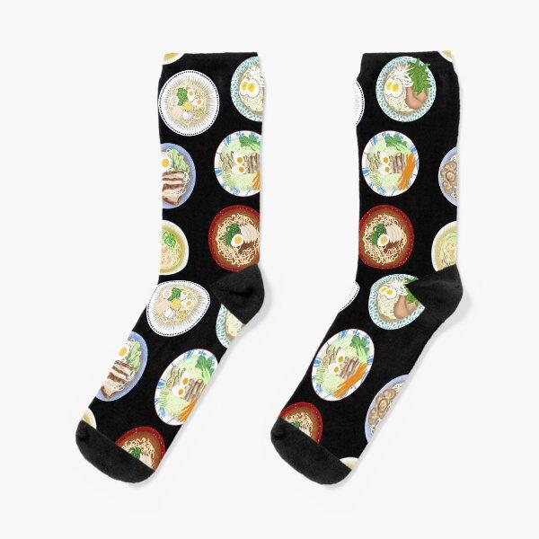 Ramen Noodles Socks