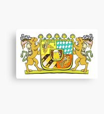 Wolpertinger Coat of Arms  Canvas Print