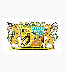 Wolpertinger Coat of Arms  Photographic Print