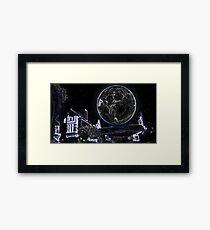 Full Moon On A Windy Night 2 Framed Print