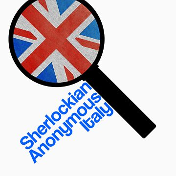 Sherlockian Anonymous Italy by claudiasana