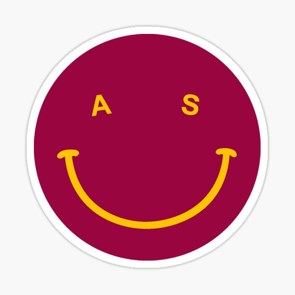 Arizona State Smile Sticker