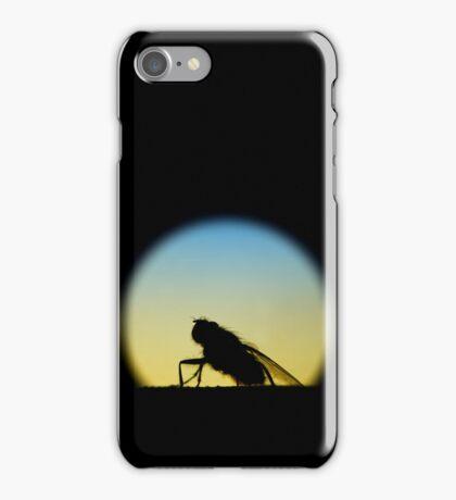 Silhouett-O (Vertical) iPhone Case/Skin