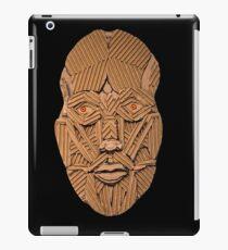 Cardboard Head iPad Case/Skin