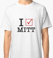 I Vote Mitt Classic T-Shirt