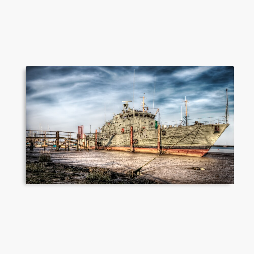 Warship Leinwanddruck