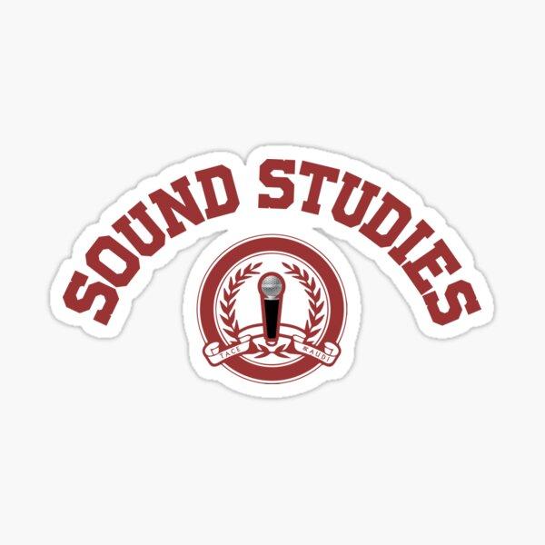 Sound Studies University Sticker