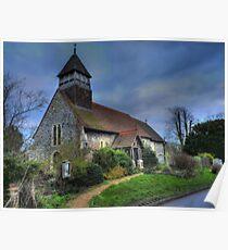 St. Marys, Stodmarsh, Kent Poster