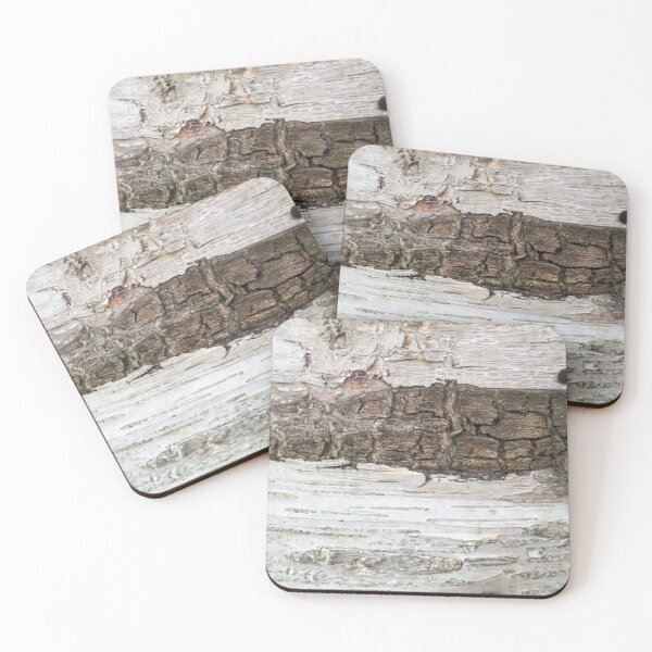 wood Coasters (Set of 4)