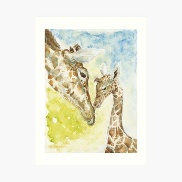 Girafe Impression artistique