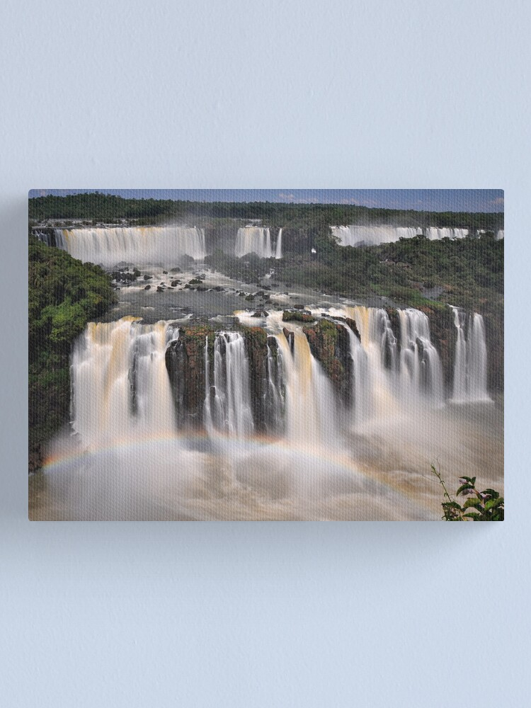 Alternate view of Tiered Falls #2 Canvas Print