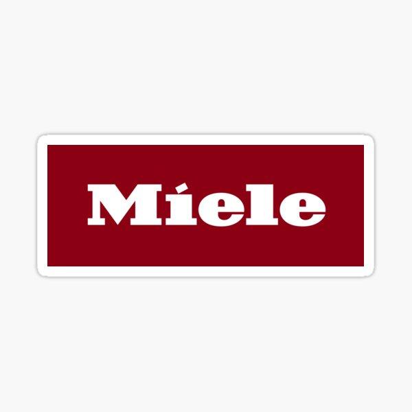 Miele Logo Print Sticker