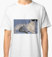 PAPA KITTY BABY KITTY Classic T-Shirt