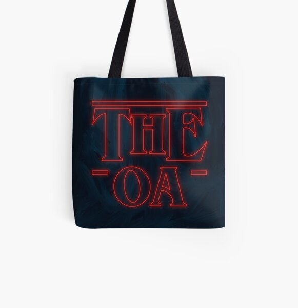 The OA - ST Logo All Over Print Tote Bag