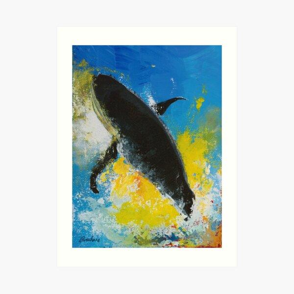 Baleine Impression artistique