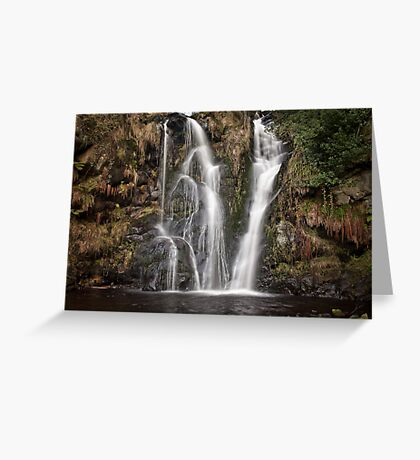 Posforth Gill waterfall Greeting Card