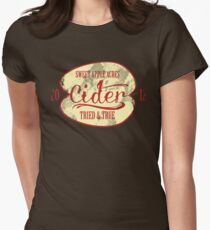 Sweet Apple Acres' Cider Women's Fitted T-Shirt