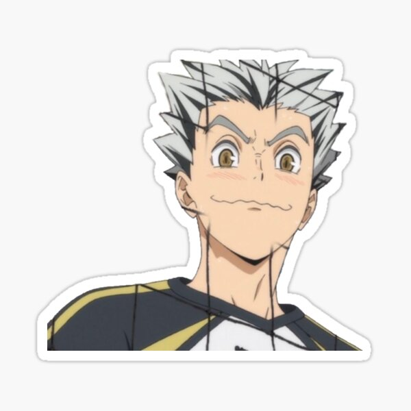 bokuto uwu Sticker