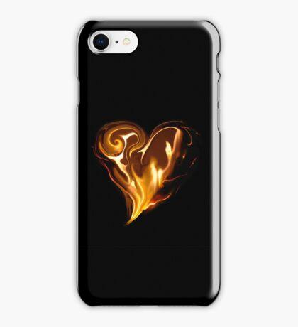 Blazing Heart iPhone Case/Skin